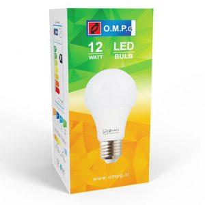لامپ ۱۲ وات حبابی LED