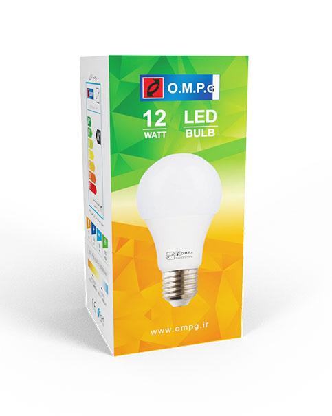 لامپ 12 وات ال ای دی امیدپدیده