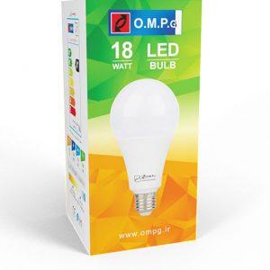 لامپ ۱۸ وات حبابی LED