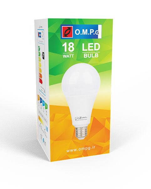 لامپ ال ای دی 18 وات امید پدیده