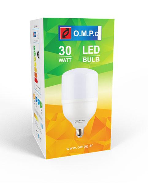 لامپ ال ای دی 30 وات امید پدیده