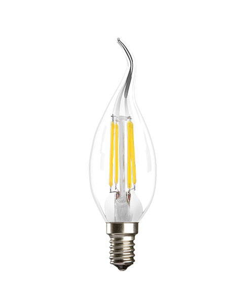 لامپ شمعی فیلامنتی