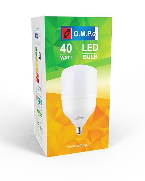 لامپ ال ای دی 40 وات امیدپدیده