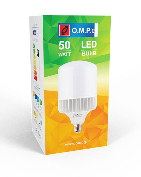 لامپ ال ای دی 50 وات امید پدیده