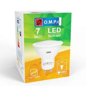 لامپ ۷ وات هالوژن  LED SMD
